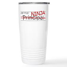 Job Ninja Principal Travel Coffee Mug