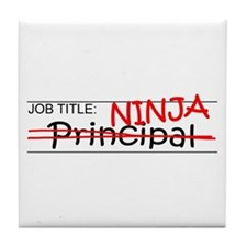 Job Ninja Principal Tile Coaster