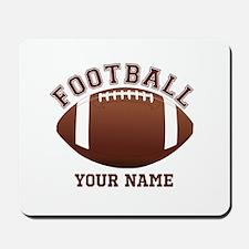 Personalized Name Footbal Mousepad