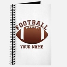 Personalized Name Footbal Journal