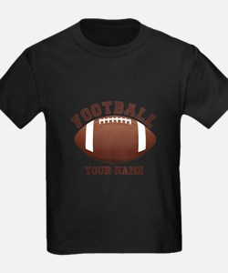 Personalized Name Footbal T