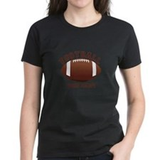 Personalized Name Footbal Tee