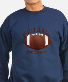 Personalized Name Footbal Sweatshirt (dark)