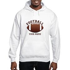 Personalized Name Footbal Hoodie