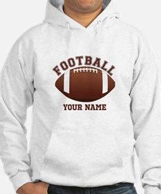 Personalized Name Footbal Hoodie