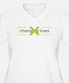 Changing Lives Plus Size T-Shirt