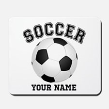 Personalized Name Soccer Mousepad