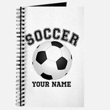 Personalized Name Soccer Journal