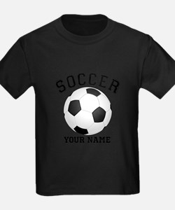 Personalized Name Soccer T