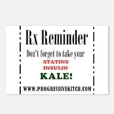 Rx Reminder Postcards (Package of 8)