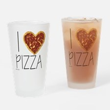 i love pizza Drinking Glass