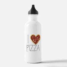 i love pizza Water Bottle