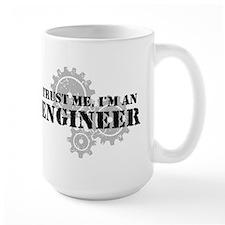 Trust Me I'm An Engineer Ceramic Mugs