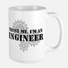 Trust Me I'm An Engineer Large Mug