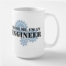Trust Me I'm An Engineer Large Mug