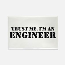 Trust me I'm an Engineer Rectangle Magnet