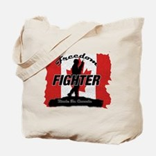 Canadian Freedom Fighter Tote Bag