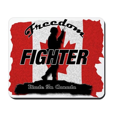 Canadian Freedom Fighter Mousepad