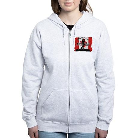 Canadian Freedom Fighter Zip Hoodie