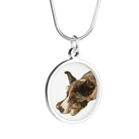 Adorable Rescue Australian Shepherd Mix Necklaces