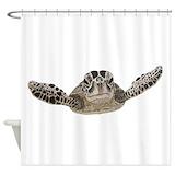 Aquatic animals sea life Shower Curtains