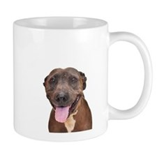 Cute Pit Bull Terrier Rescue Mug