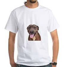 Cute Pit Bull Terrier Rescue T-Shirt