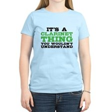 It's a Clarinet Thing T-Shirt