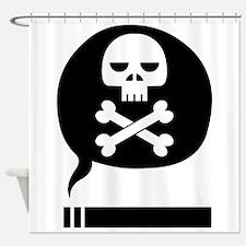Death Stick Shower Curtain