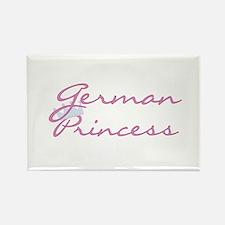 German Princess Rectangle Magnet