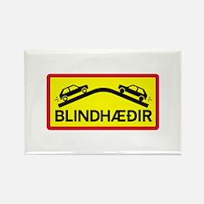 Blind Rises - Iceland Rectangle Magnet