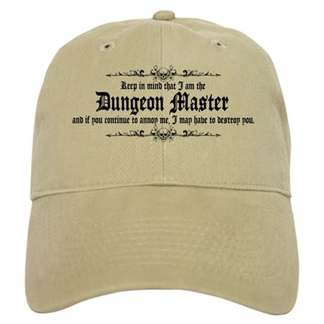 Dungeon Master - Baseball Cap