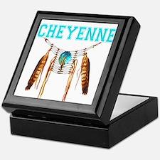 Proud to be Cheyenne Keepsake Box