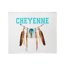 Proud to be Cheyenne Throw Blanket
