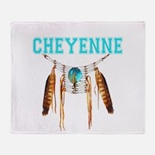 Proud to be Cheyenne Throw Blanket