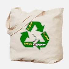 Weed Puff Puff Pass Tote Bag