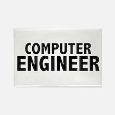 Computer Engineer Rectangle Magnet