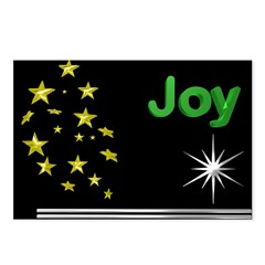 Joy Christmas Postcards (Package of 8)