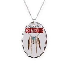 Proud to be Cheyenne Necklace Oval Charm