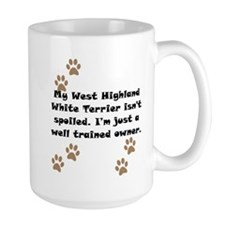 Well Trained West Highland White Terrier Owner Mug