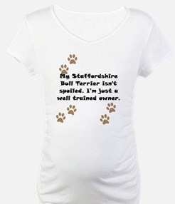 Well Trained Staffordshire Bull Terrier Owner Mate