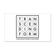 Transcending Form Wall Decal