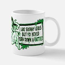 Never Turn Down Fattie Mug