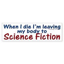 Science Fiction Bumper Bumper Sticker