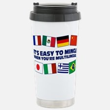 Its Easy to Mingle Travel Mug