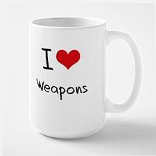 I love Weapons Mug