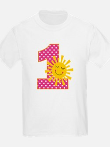 Sunshine 1st Birthday T-Shirt