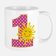 Sunshine 1st Birthday Mugs