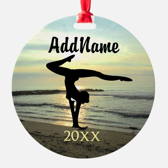 DARLING GYMNAST Ornament