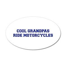 cool-grandpas-ride-motorcycles-fresh-blue Wall Dec